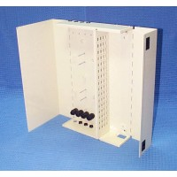 Indoor Termination Enclosure, Wall Mount, 60 Way