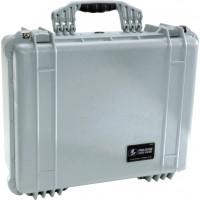 Pelican Case 1500 Silver