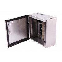 Industrial Termination Enclosure, Stainless Steel, 24 Way