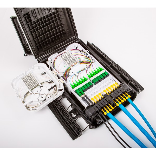 Outdoor Fiber Distribution Closure Optical Fibre Systems